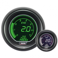 ProSport Fuel Pressure Gauge - 52mm - EVO - White/Green