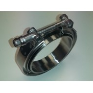 """clamp + 2 V-Band Rings 3"""" 76mm"""