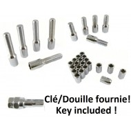 Thin screws or bolts / nuts for you thin wheel holes